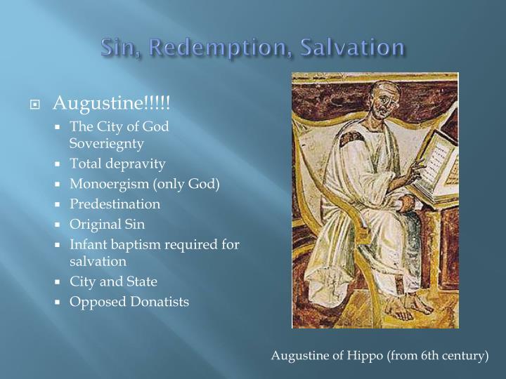 Sin, Redemption, Salvation