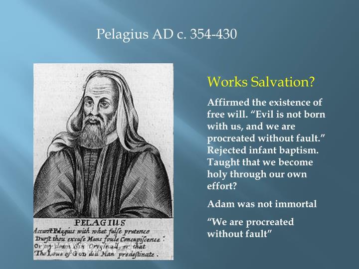 Pelagius AD c. 354-430
