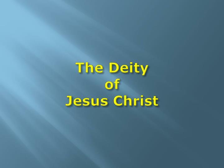The Deity