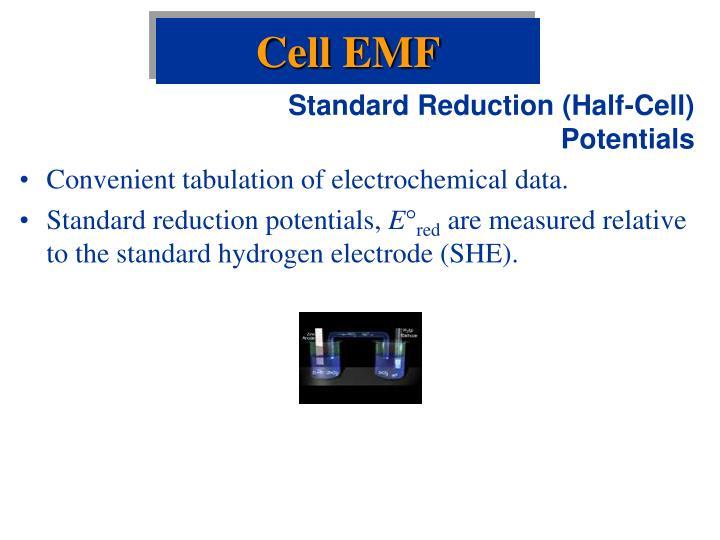 Cell EMF