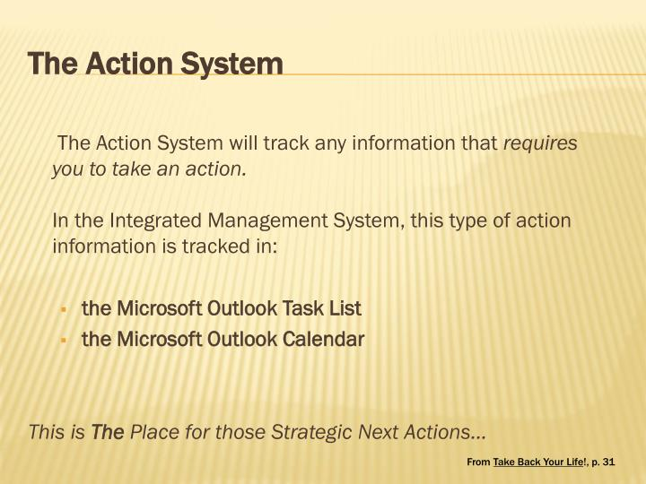 The Action System