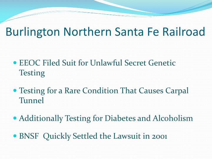 Burlington Northern Santa Fe Railroad