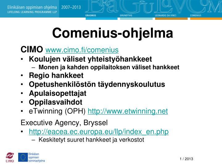 Comenius-ohjelma