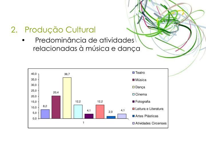 Produo Cultural