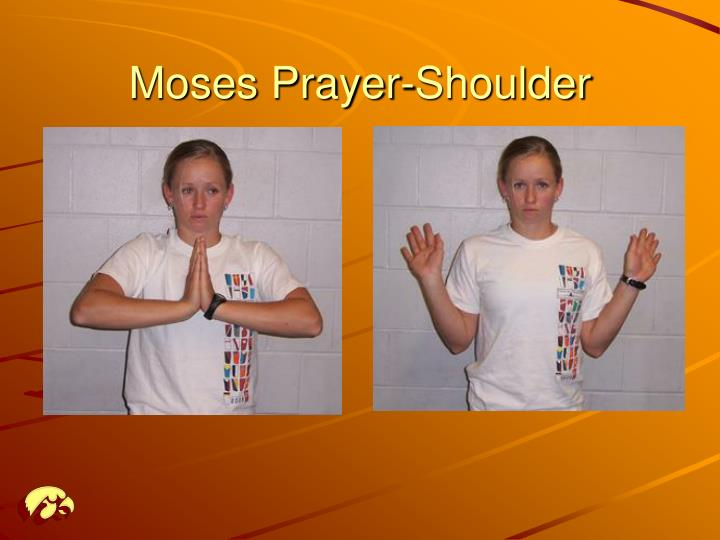 Moses Prayer-Shoulder