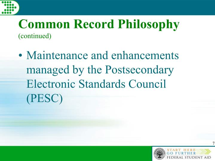 Common Record Philosophy