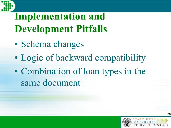 Implementation and Development Pitfalls