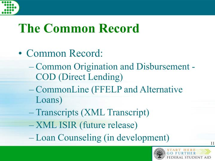 The Common Record