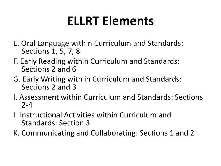 ELLRT Elements