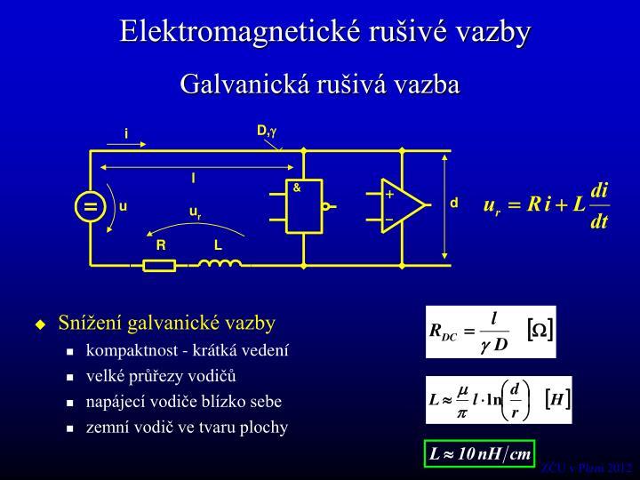 Elektromagnetické rušivé vazby