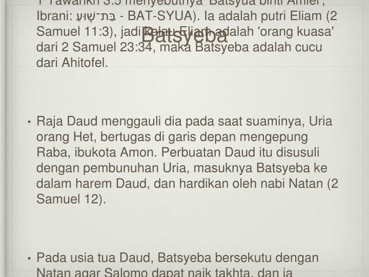 Batsyeba