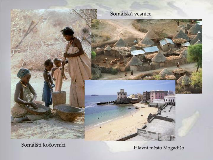 Somálská vesnice