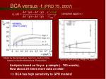 bca versus t prd 75 2007