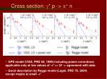 cross section g p p n