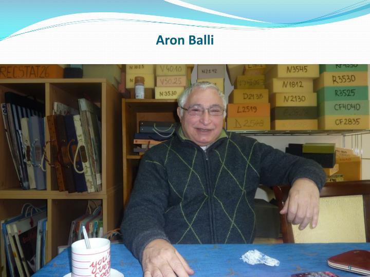 Aron Balli