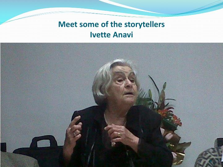 Meet some of the storytellers