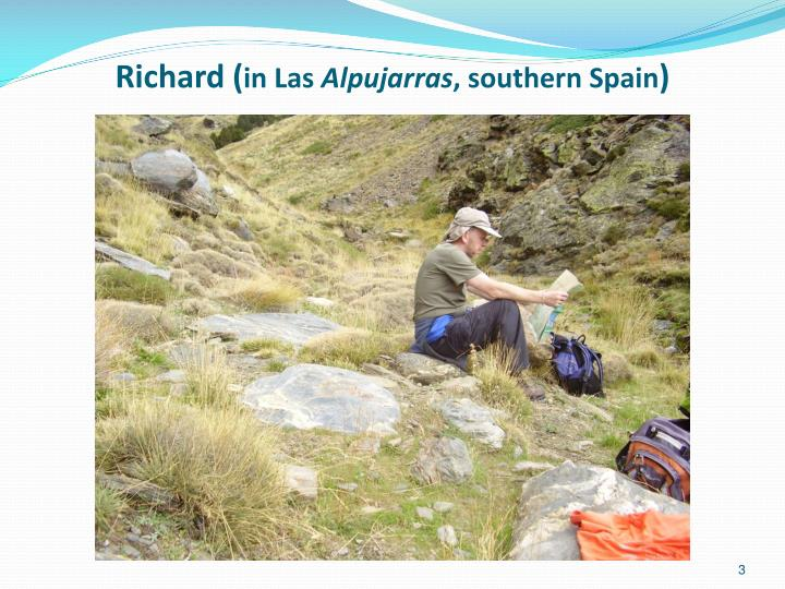 Richard in las alpujarras southern spain