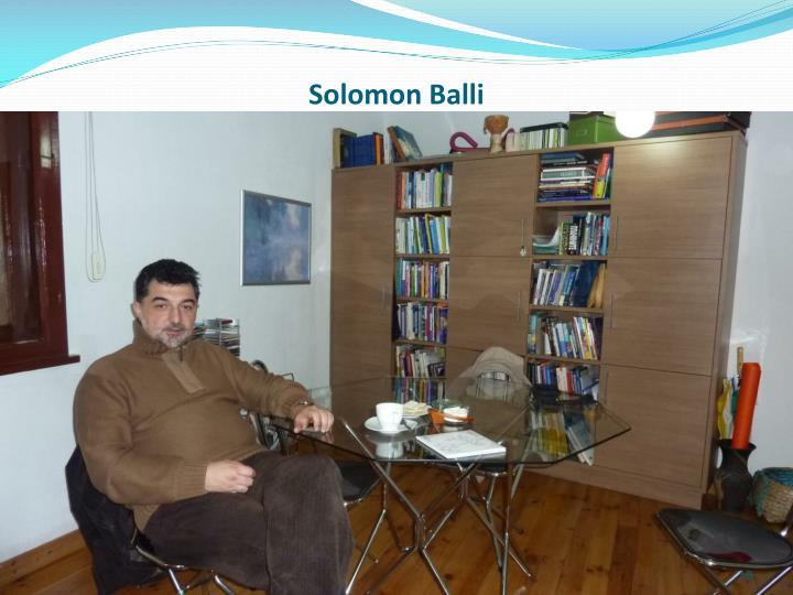 Solomon Balli