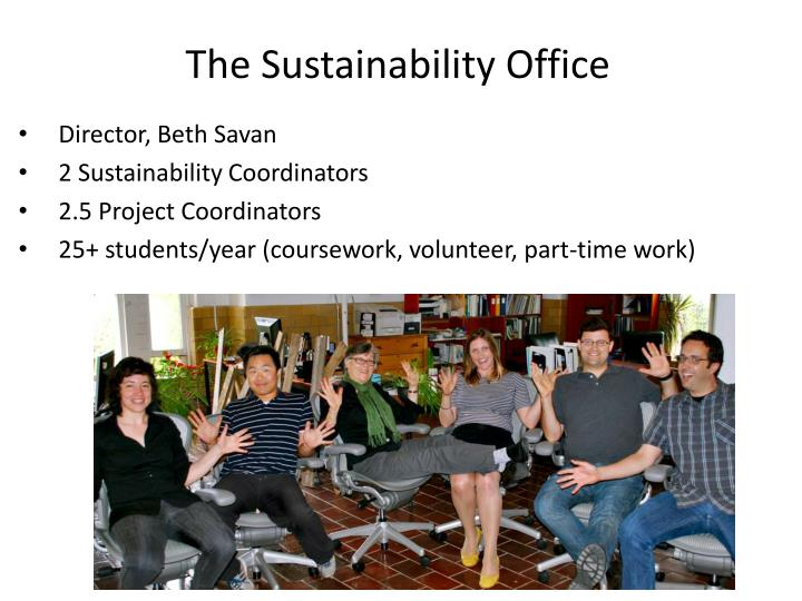 The Sustainability Office