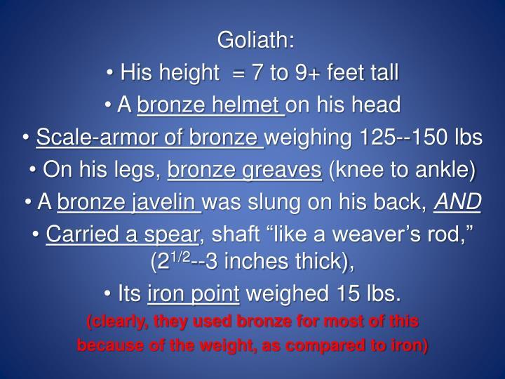Goliath: