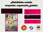 habilidades sociales compasi n cooperaci n justicia