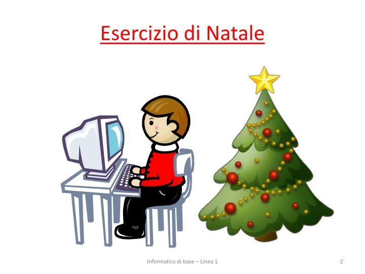 Esercizio di Natale
