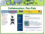 collaboration pen pals