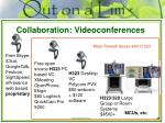 collaboration videoconferences