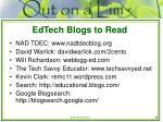 edtech blogs to read