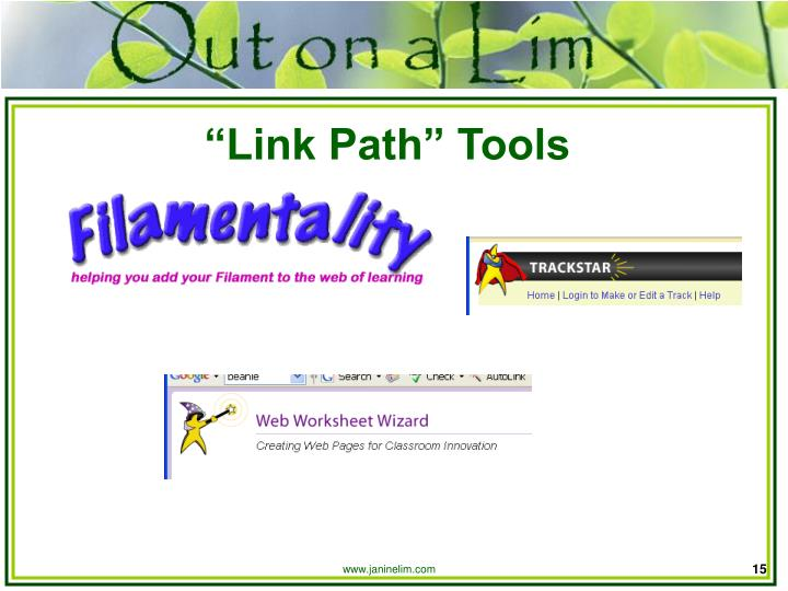 """Link Path"" Tools"