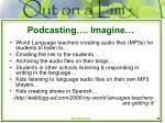 podcasting imagine