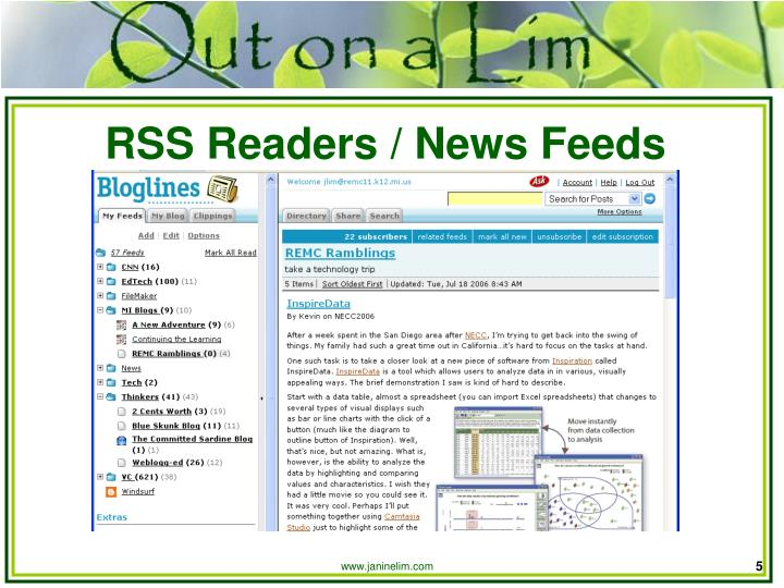 RSS Readers / News Feeds