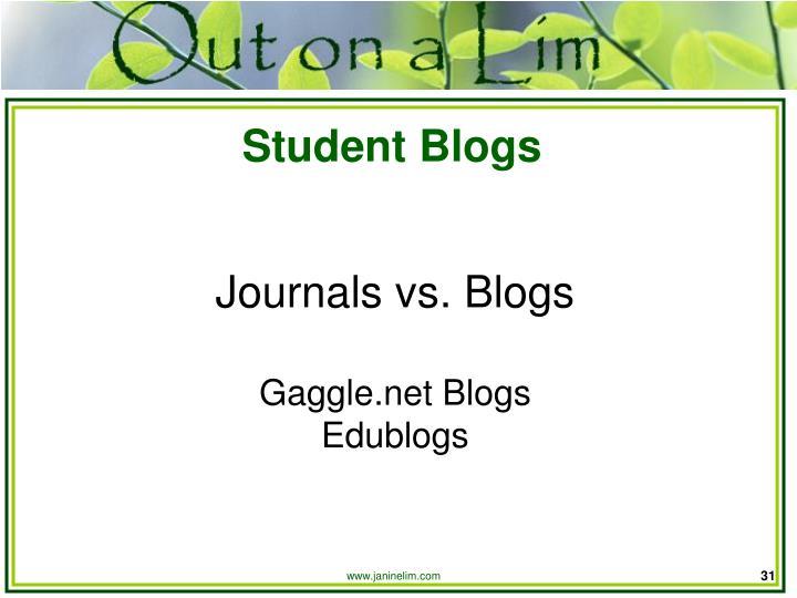 Student Blogs