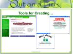 tools for creating