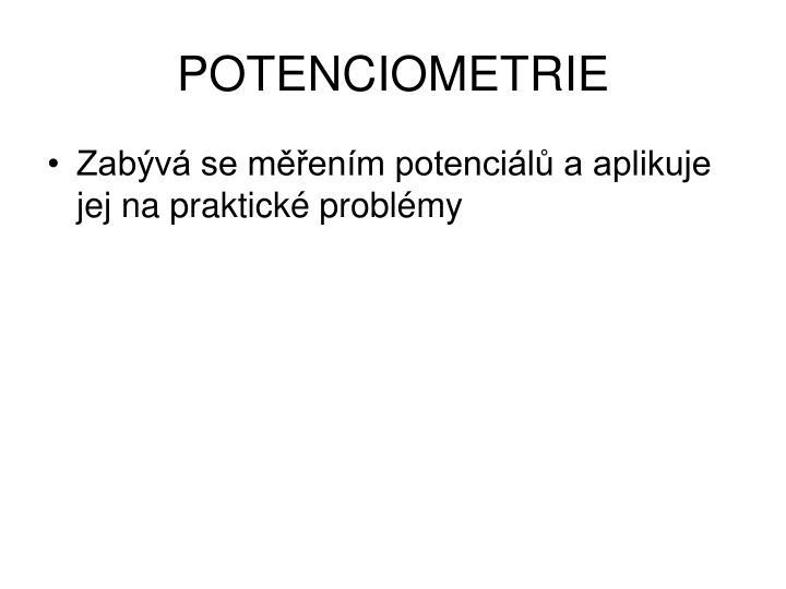 POTENCIOMETRIE