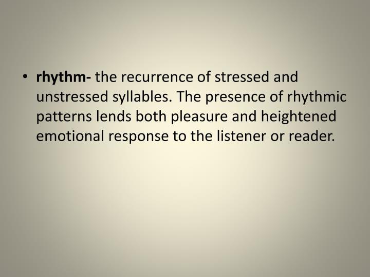 rhythm-