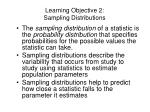 learning objective 2 sampling distributions1