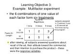 learning objective 3 example multifactor experiment2