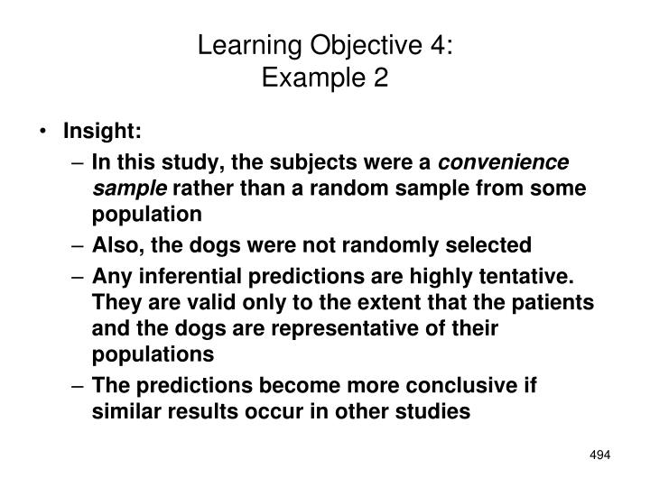 Learning Objective 4: