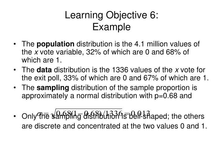 Learning Objective 6: