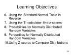learning objectives11