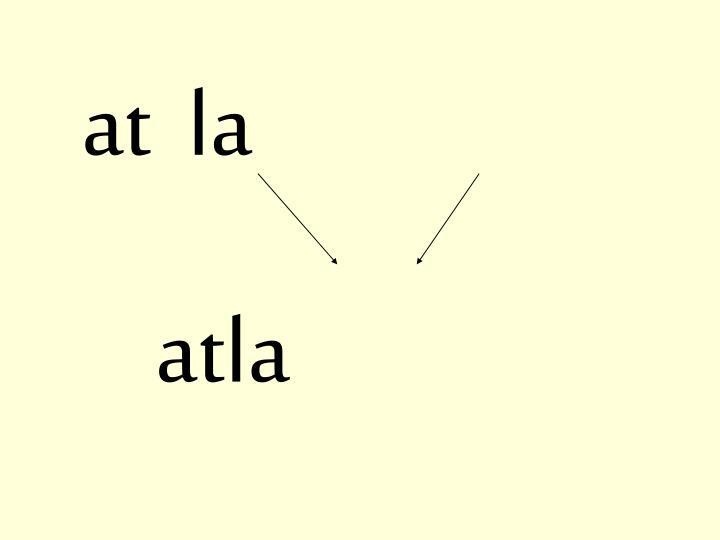 at  la