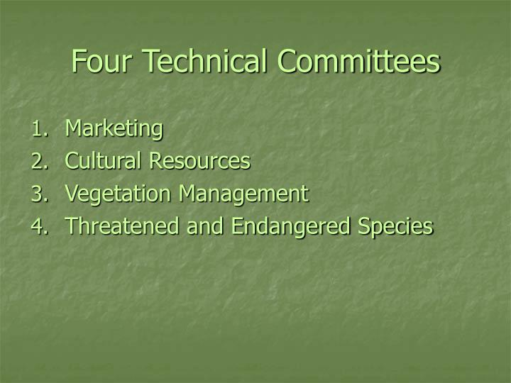 Four Technical Committees