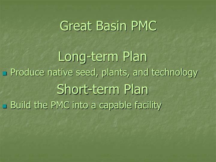 Great basin pmc1