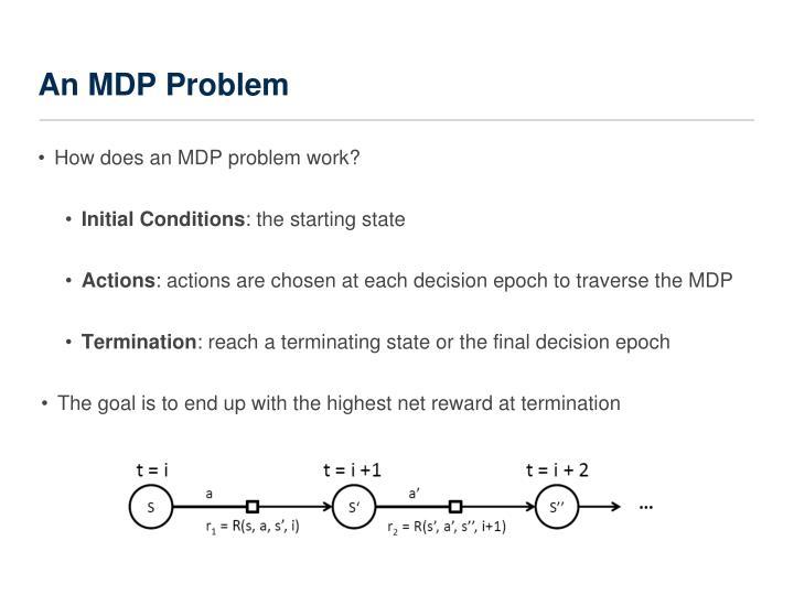 An MDP Problem