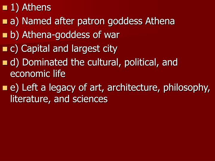 1) Athens