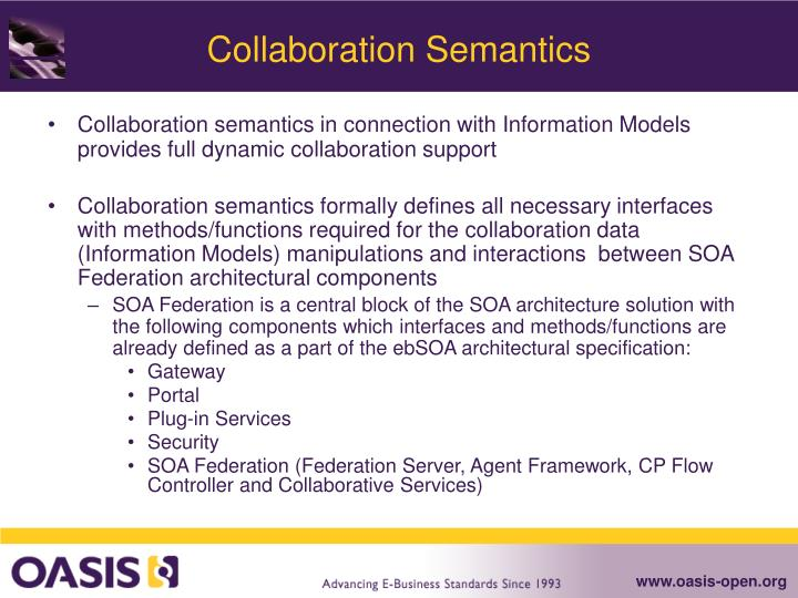 Collaboration Semantics