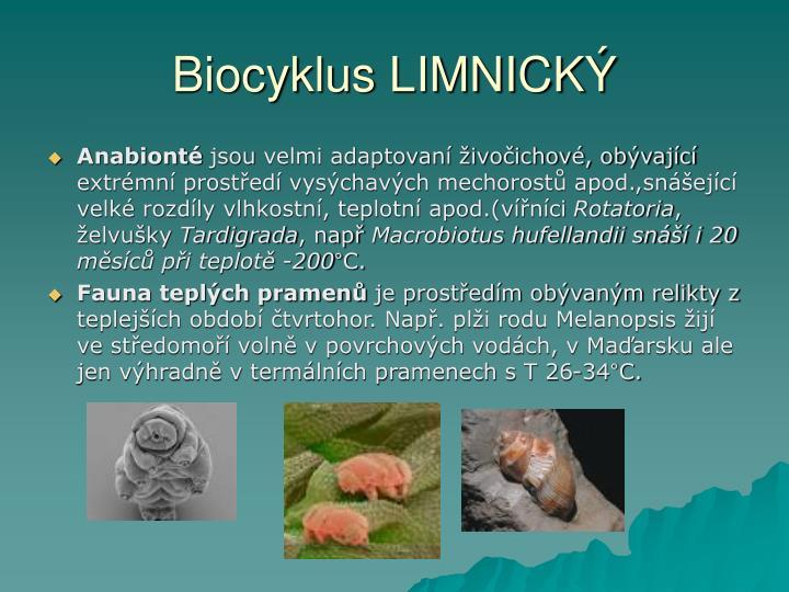 Biocyklus LIMNICKÝ