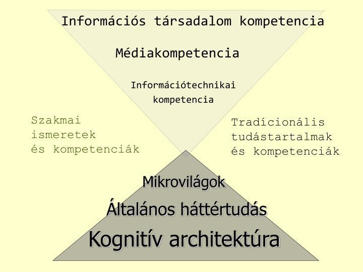 Információs társadalom kompetencia