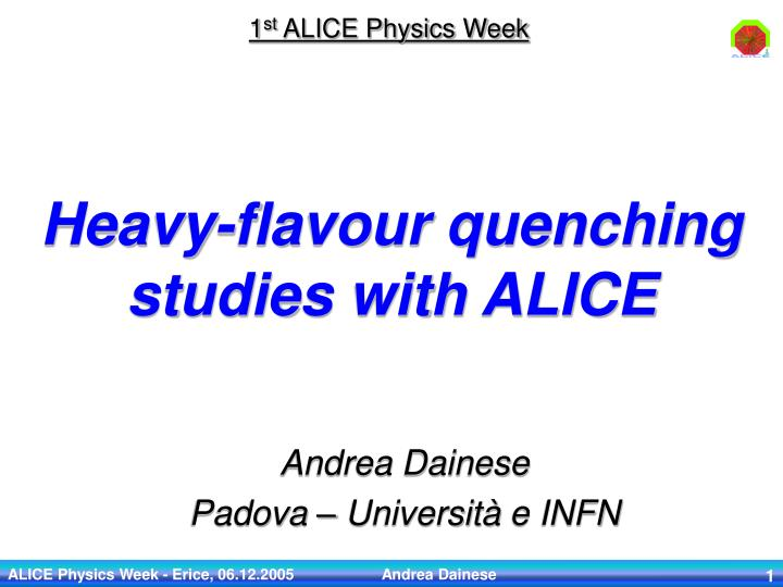 Heavy flavour quenching studies with alice